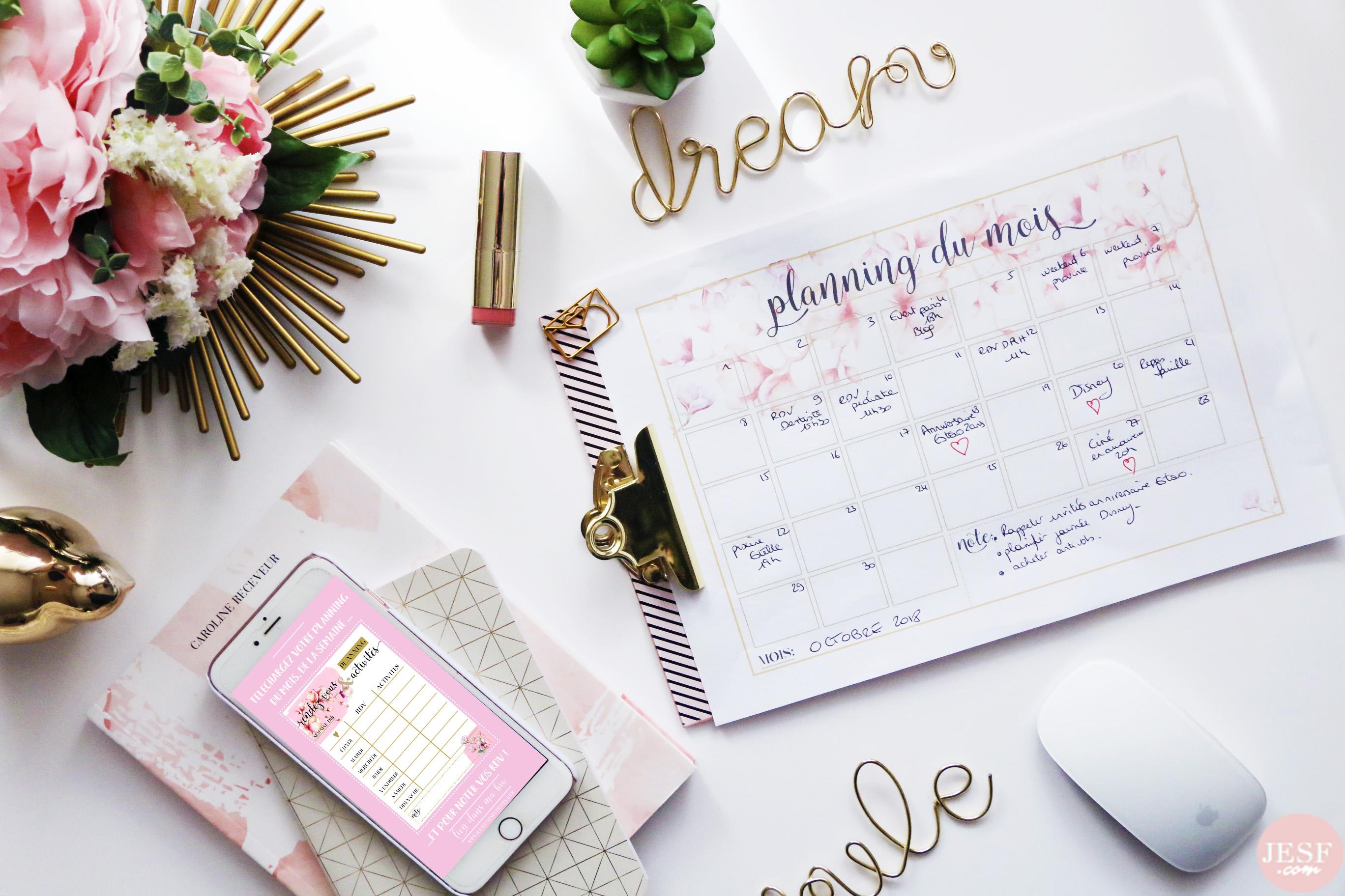 planner-mois-organisation