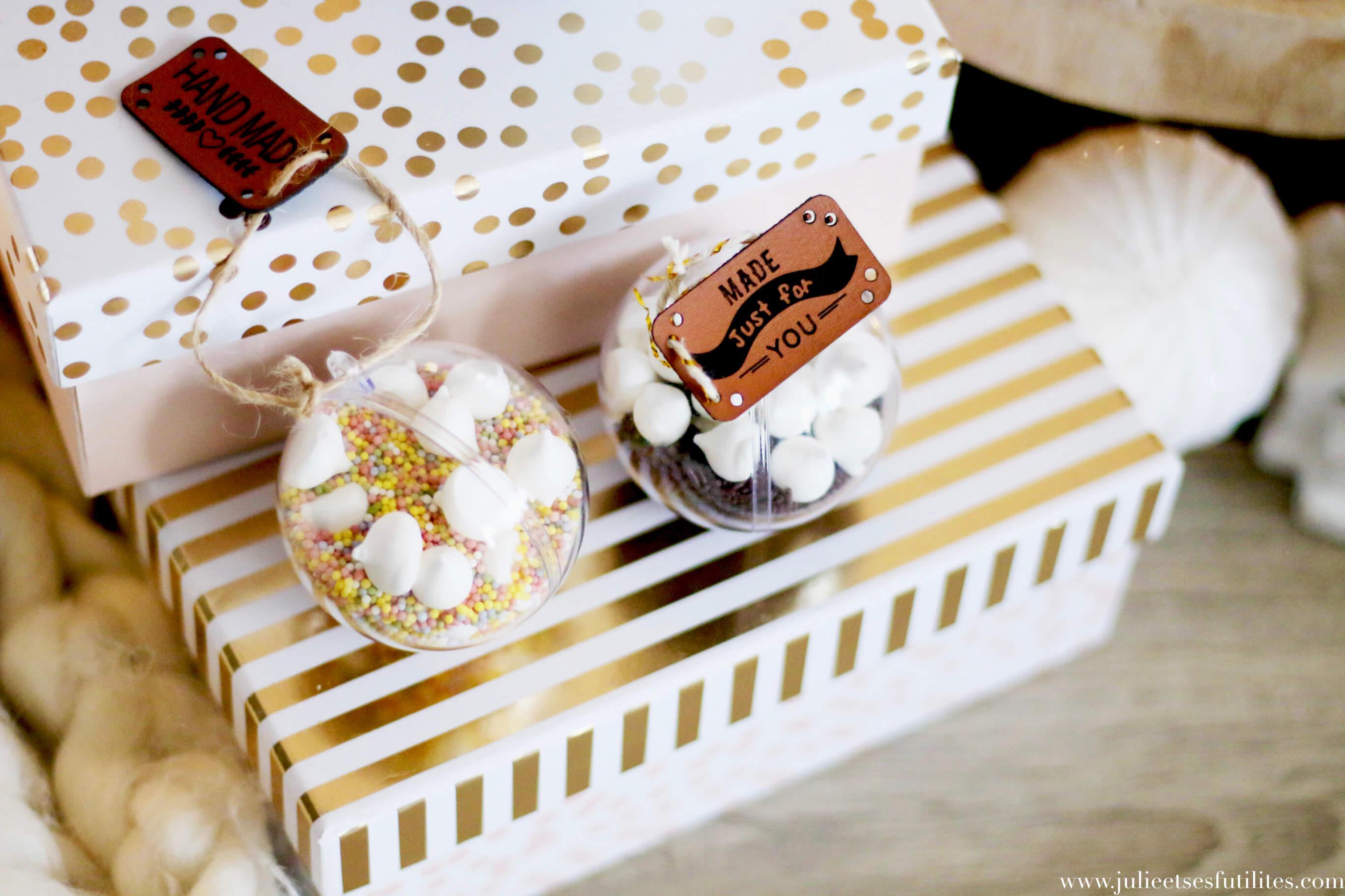 Diy 4 Idées De Cadeaux De Noël Gourmands Julie Et Ses