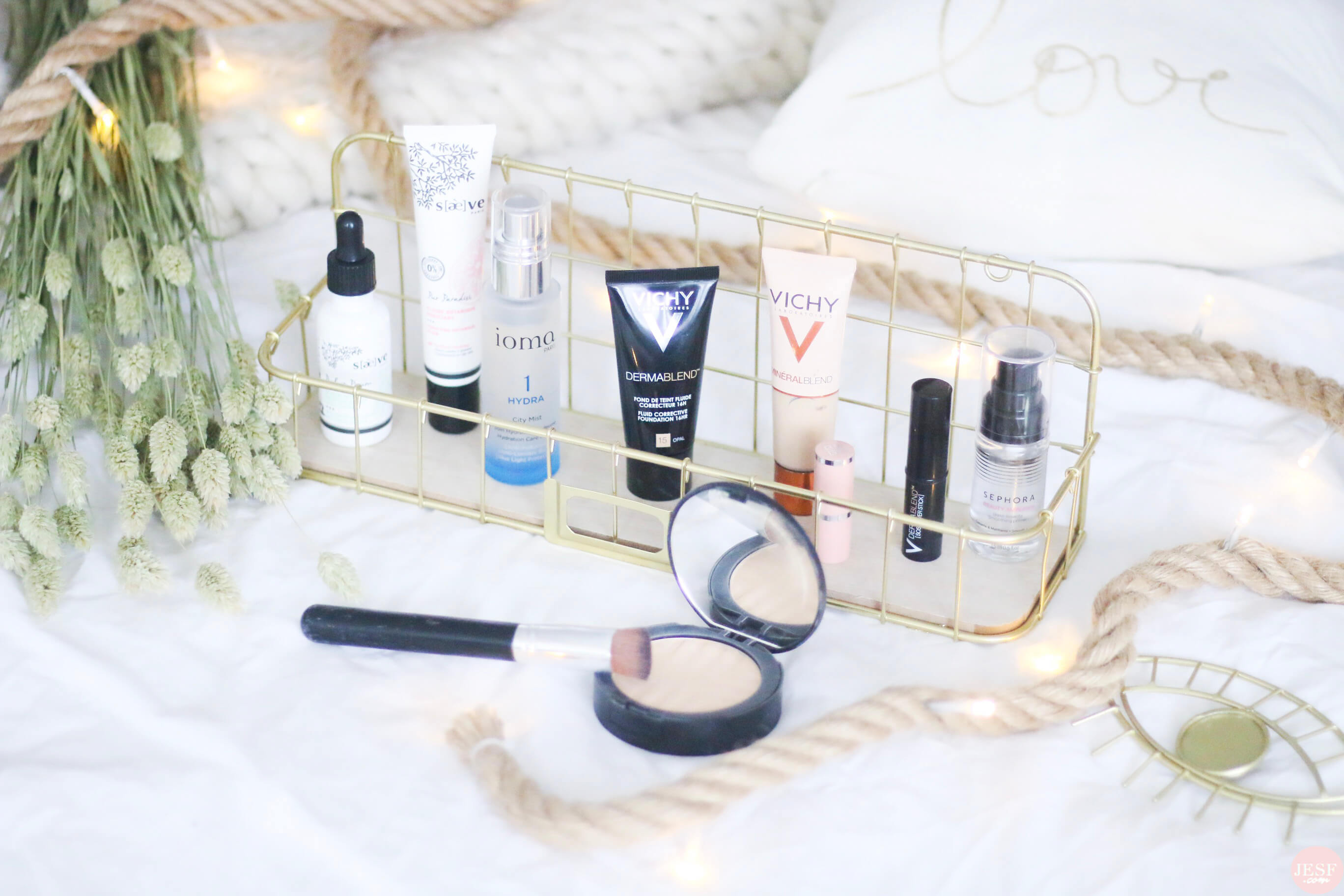 routine-teint-imperfection-visage-makeup-soin-vichy-dermablend-correcteur-saeve