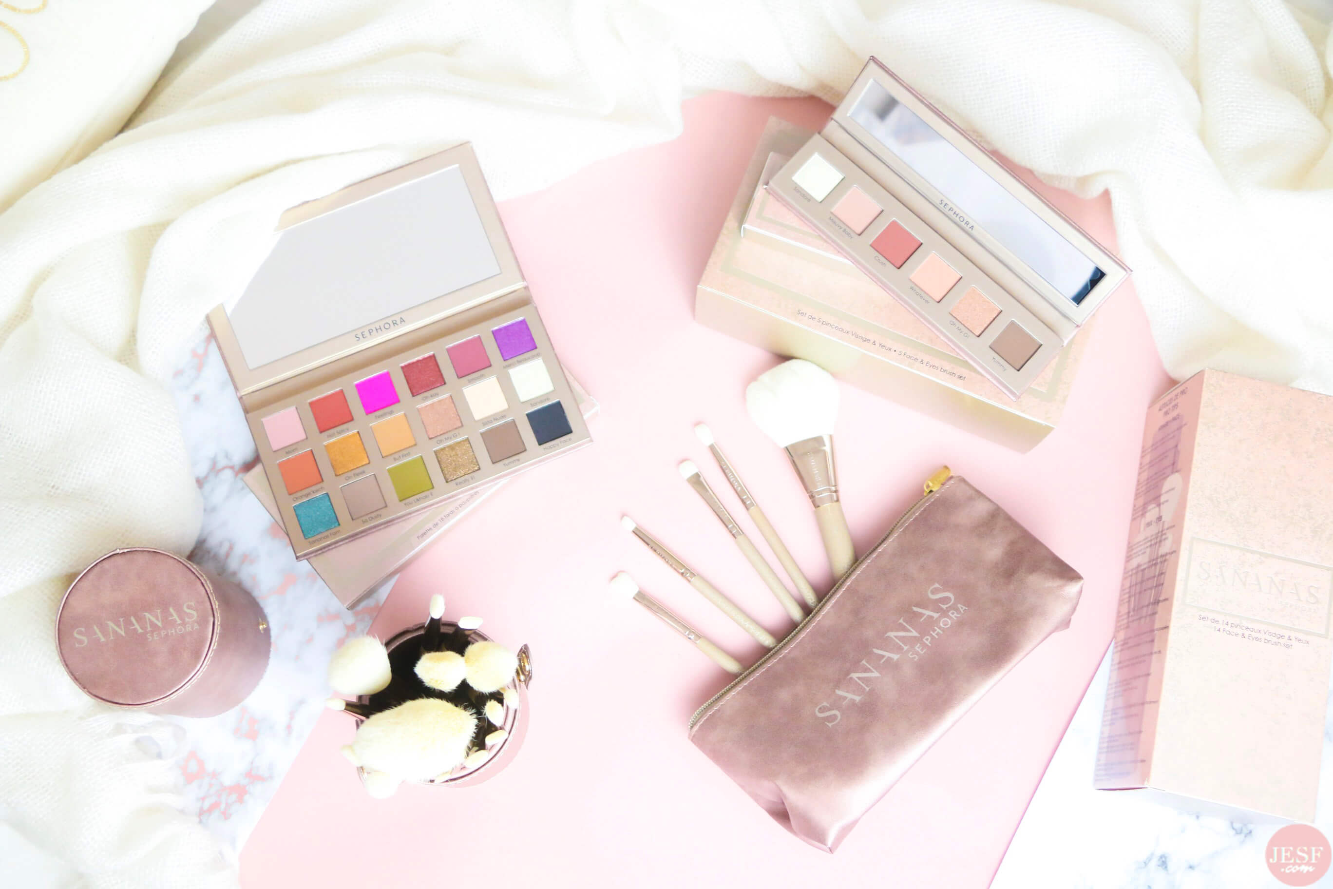 sananas-sephora-collection-makeup-avis-test-swatch-pinceaux-palette